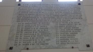 Nombres Damas fundadoras