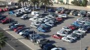 Plaza Consejo de Europa, aparcamiento
