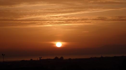 Sol en noviembre