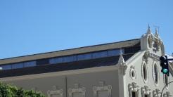 Teatro perelló, cubierta de uralita