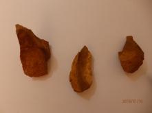 Lascas y restos de talla