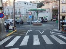 Rotonda, calle Montes Tirado