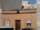 Cubierta de uralita, calle Tarragona