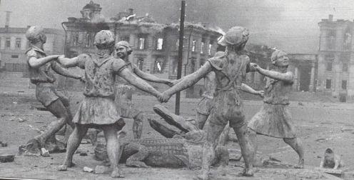 Stalingrado, fuente de los niños