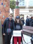 Gema aguilar y Claudia Cluu, Podemos