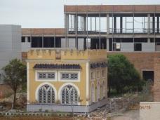 Hospital, pabellón colonial de Té