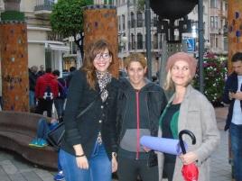 Sabrina Moh (PSOE), Gema Aguilar y Elena Fernández