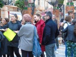 Nora Hammad (PSOE) e Isabel Moreno (PP)