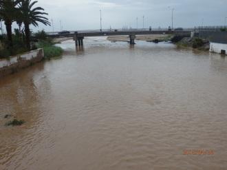 Río de Oro, desembocadura