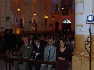 Autoridades, invitados y fieles