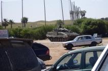 Golf y carros de combate