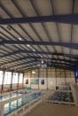Interior de la piscina