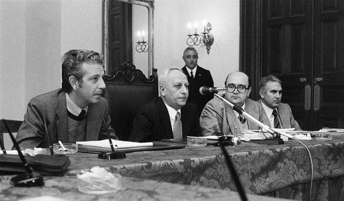Pío La Torre en la Comisión Antimafia