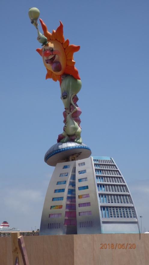 Torres V Centenario montadas