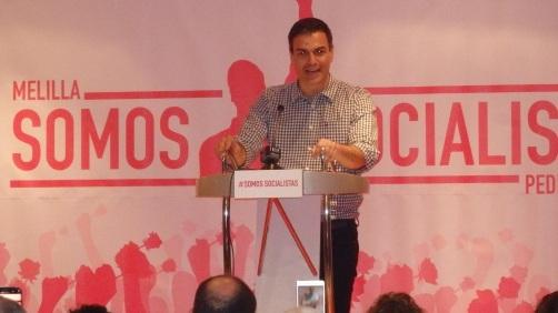 Pedro Sánchez, Melilla marzo 2017