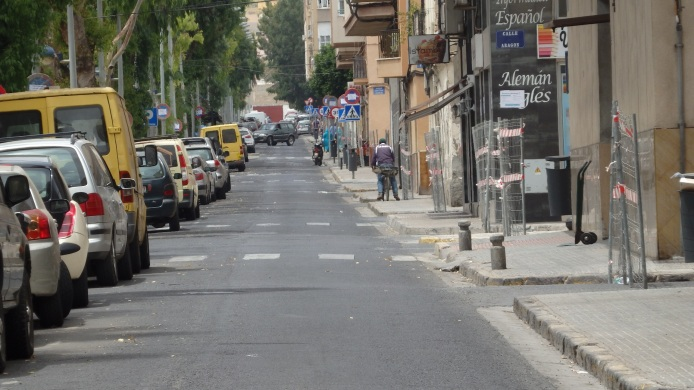 Calle Mar Chica, corte total
