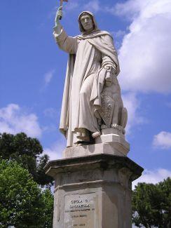 Estatua de savonarola, Florencia