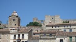 Torre del Alfiler y Virgen de La Victoria