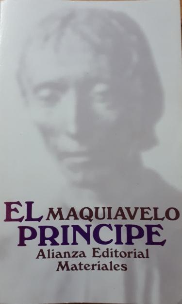 El Príncipe, Nicolás Maquiavelo