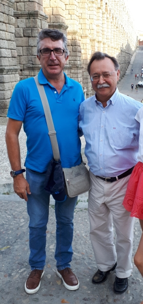 Juan Jesús Vivas en Segovia