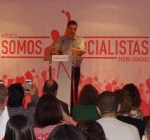 Pedro Sánchez en Melilla