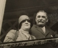 Alberto Castro Girona y Concepción Pozurama