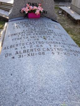 Tumba familia Castro Girona