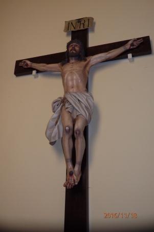 Cristo de Limpias, capilla de la Cruz Roja