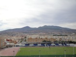 Estadio Álvarez Claro y monte Gurugú