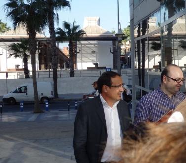 Dionisio Muñoz y Rafa Robles (uno condenado y otro absuelto)