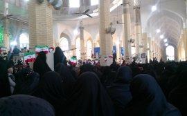 Mujeres y hombres en las mezquitas shiíes