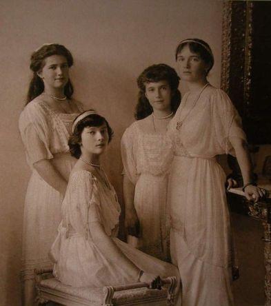 Duquesas Anastasia, Olga, Tatiana y María
