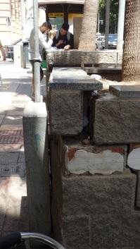 Maceteros y monolittos