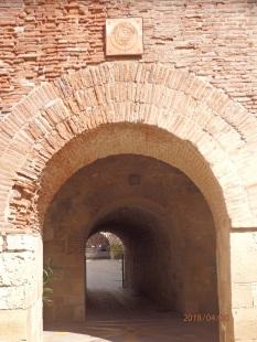 Puerta y túnel de Santa Ana