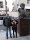 Con Fernando Arrabal