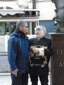 Mustafa Arruf y Fernando Arrabal