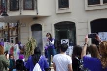 Elvira Molina, cuentacuentos