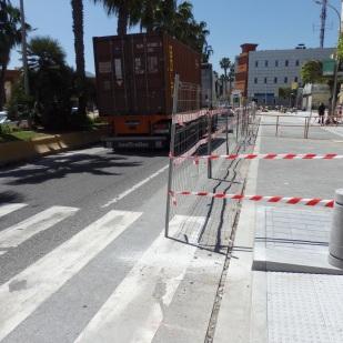 Avenida Marina Española, carril único