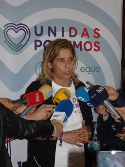 Gema Aguilar, líder de Podemos