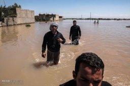 Irán inundado
