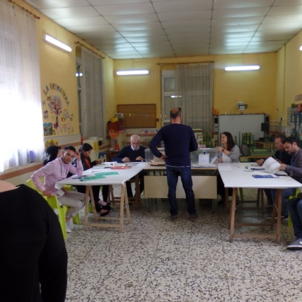 Mesa electoral, Barrio del Real