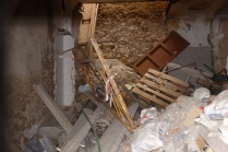 Interior colapsado