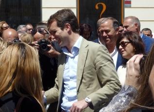 Pablo Casado en Melilla