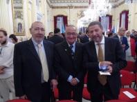 Mustafa Aberchán, Enrique Palacios y Carlos Benet