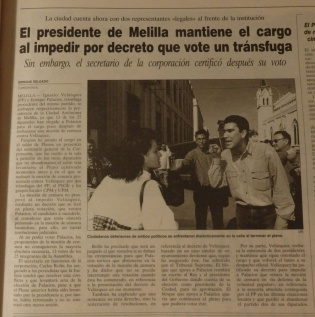 Moción de censura, 1997