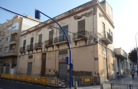 Edificio Álvaro de Bazán y Conde de Alcaudete