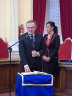 Juramento de Eduardo de Castro