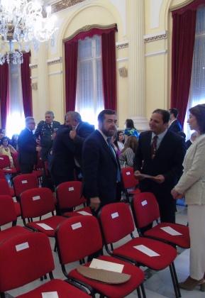 Miguel Ángel Gutiérrez y diputados cepemistas