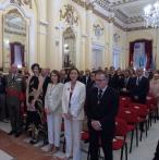 Presidente de Melilla y autoridades