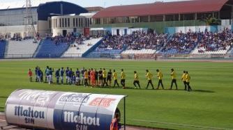 UD Melilla y Atlético Baleares